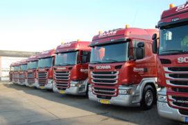 11 nieuwe Scania's voor Baars Transport