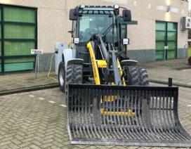 Eerste Kramer 100 procent elektrische wiellader draait bij Rutte Groep