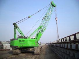 Kuiken neemt afscheid van Sennebogen Crane Line