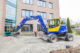 Attachment terex tw110 met kanteldraaiconnector is flexibel inzetbaar 80x53