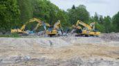 Lagemaat Sloopwerken zet groot materieel in voor sloop voormalig TNO-complex
