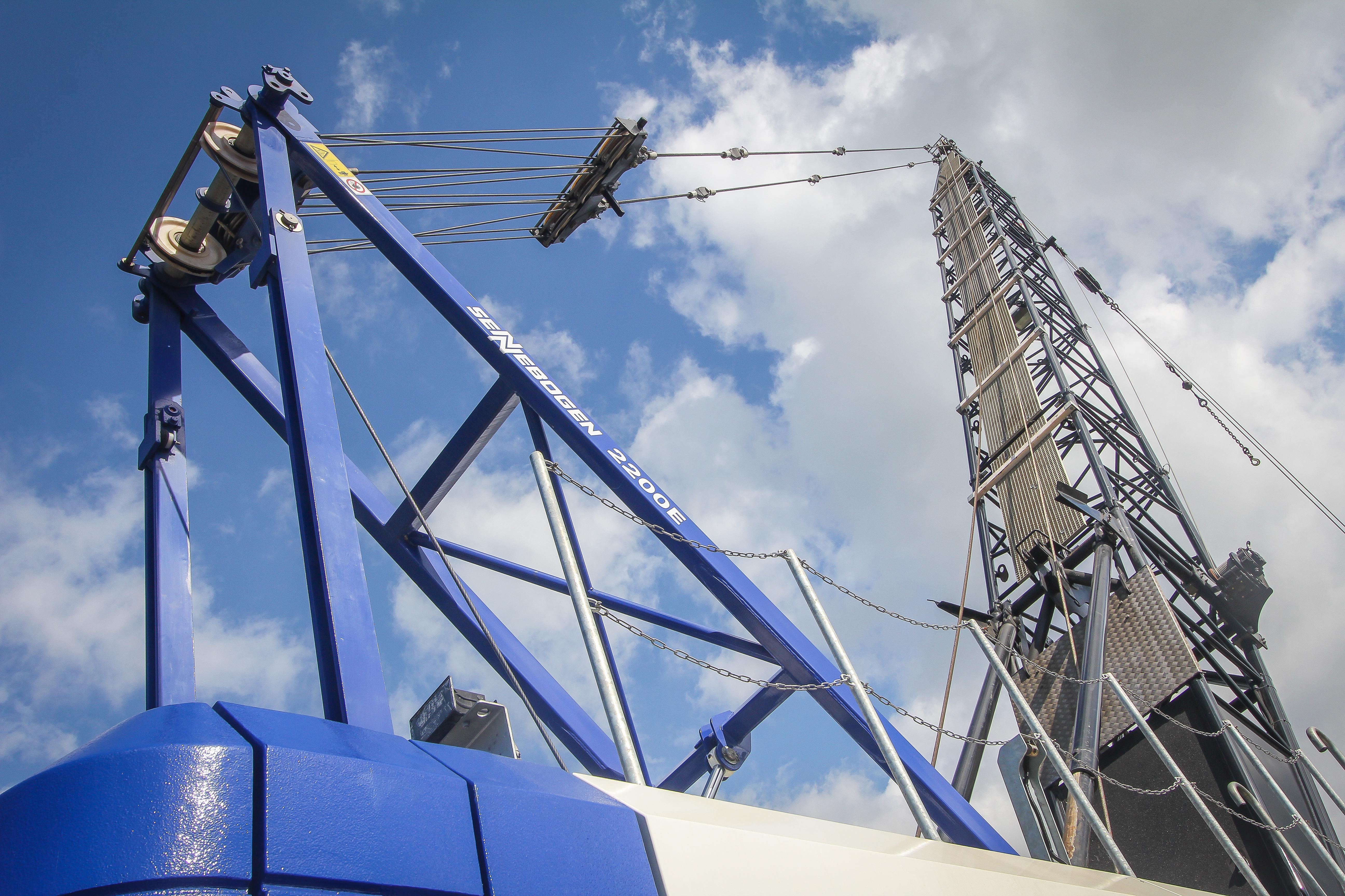 <p>De Klerk koos voor een gangbare 42,9 meter giek. De giek is modulair opgebouwd en leverbaar in lengtes van 12,1 tot 59,7 meter. Ook drie fly-jibs variërend van 13.1 m tot 24.3 meter kunnen hier bij op. </p>