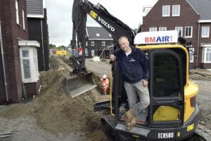 Machinist van de maand JUNI: David van Tilburg en zijn Volvo ECR 58 D