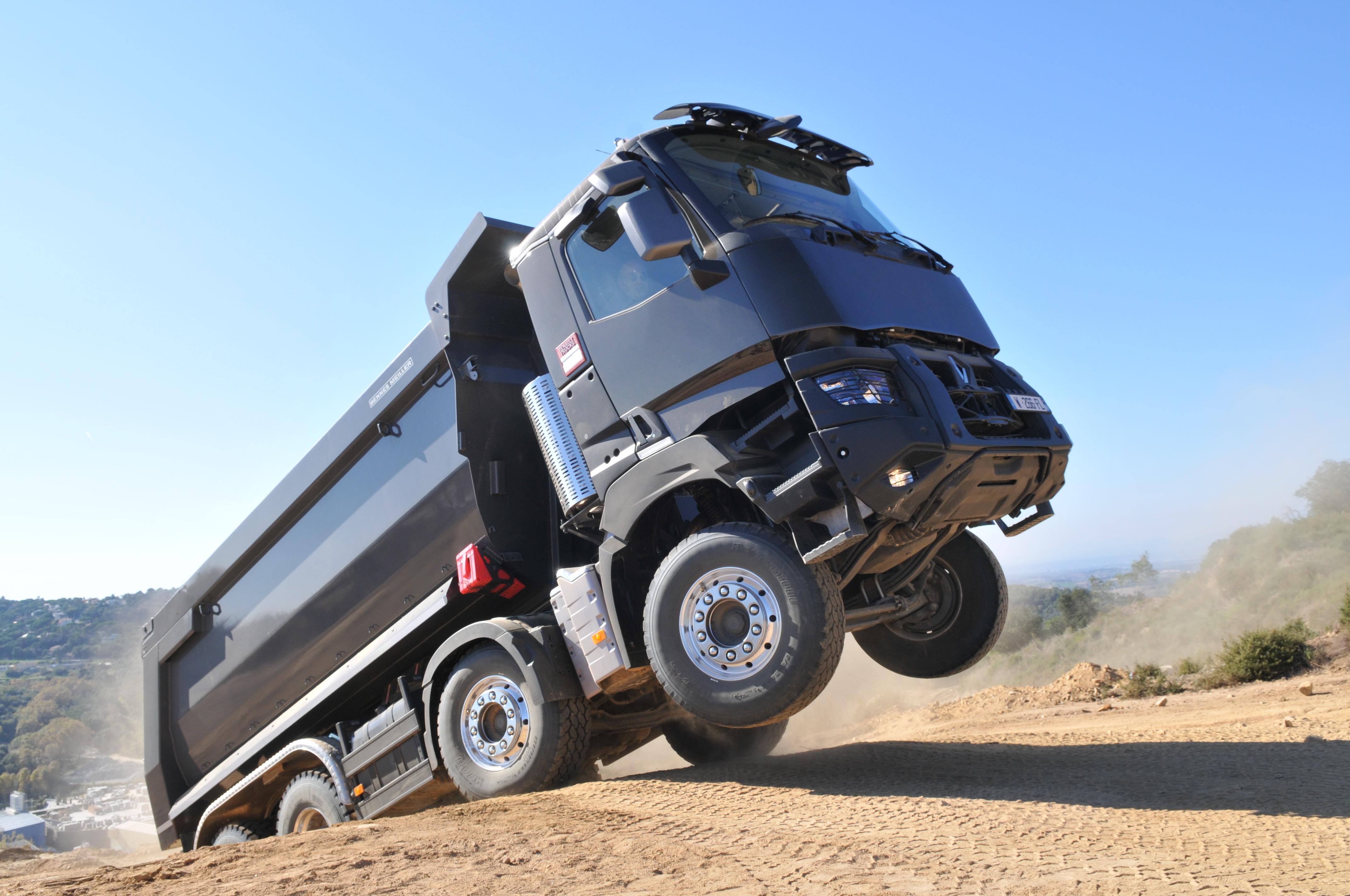 <p>Renault Trucks heeft een prachtig programma voor de bouw.</p>