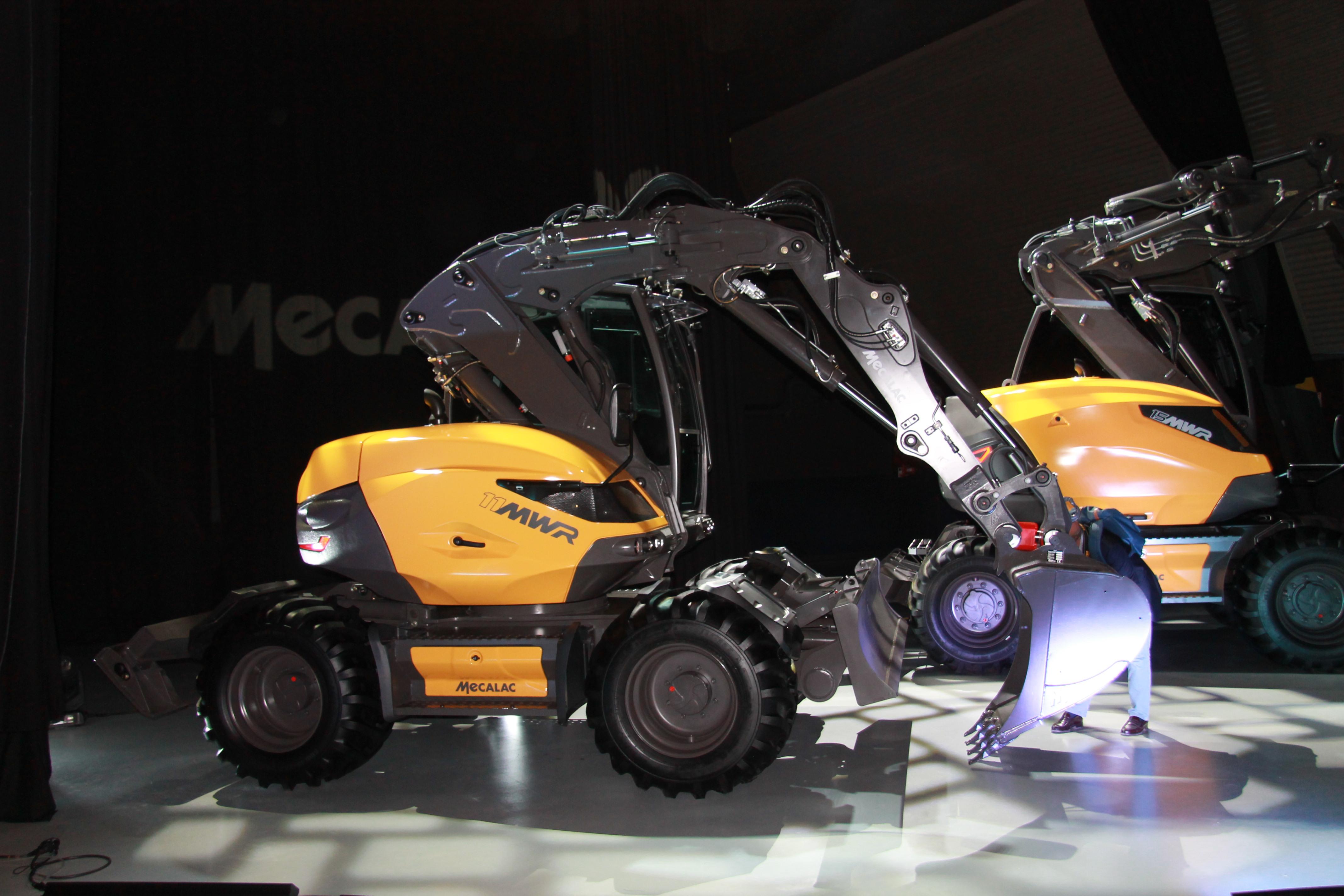 <p>De 11 MWR is de derde van de broers. Met deze machine heeft Mecalac een interessante speler in een steeds populairder wordende gewichtsklasse.</p>