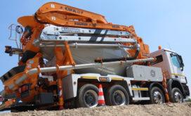 Van der Spek importeur Cifa betonpompen