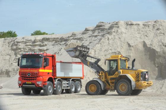 DenBreejenkoos voor de standaardArocsmet 37 ton GVW.