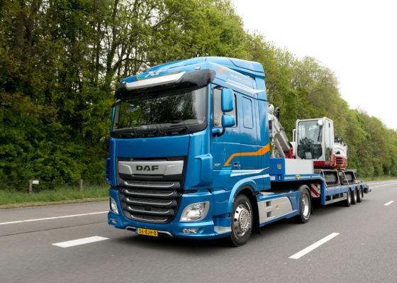 Rijtest met nieuwe generatie DAF Trucks
