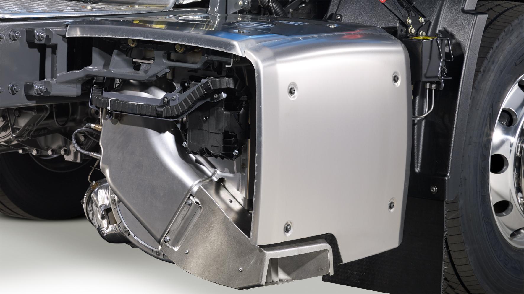 <p>De compactere, lichtere demper geeft meer chassisruimte.</p>