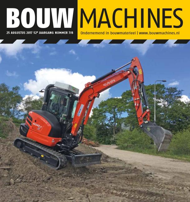 BouwMachines editie 7/8-2017