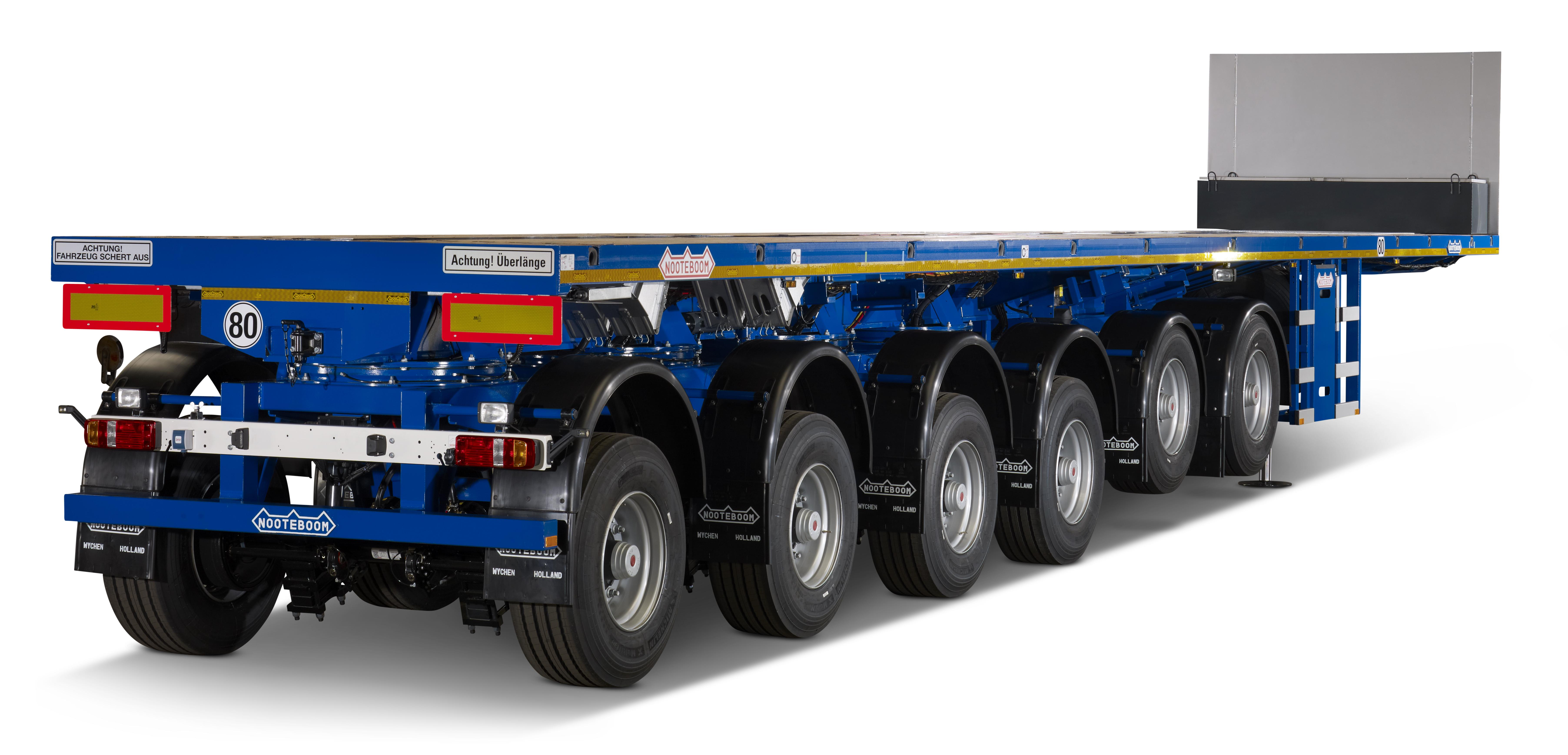 <p>PowerUpmaakt hydraulisch geveerde liftassen mogelijk.</p>