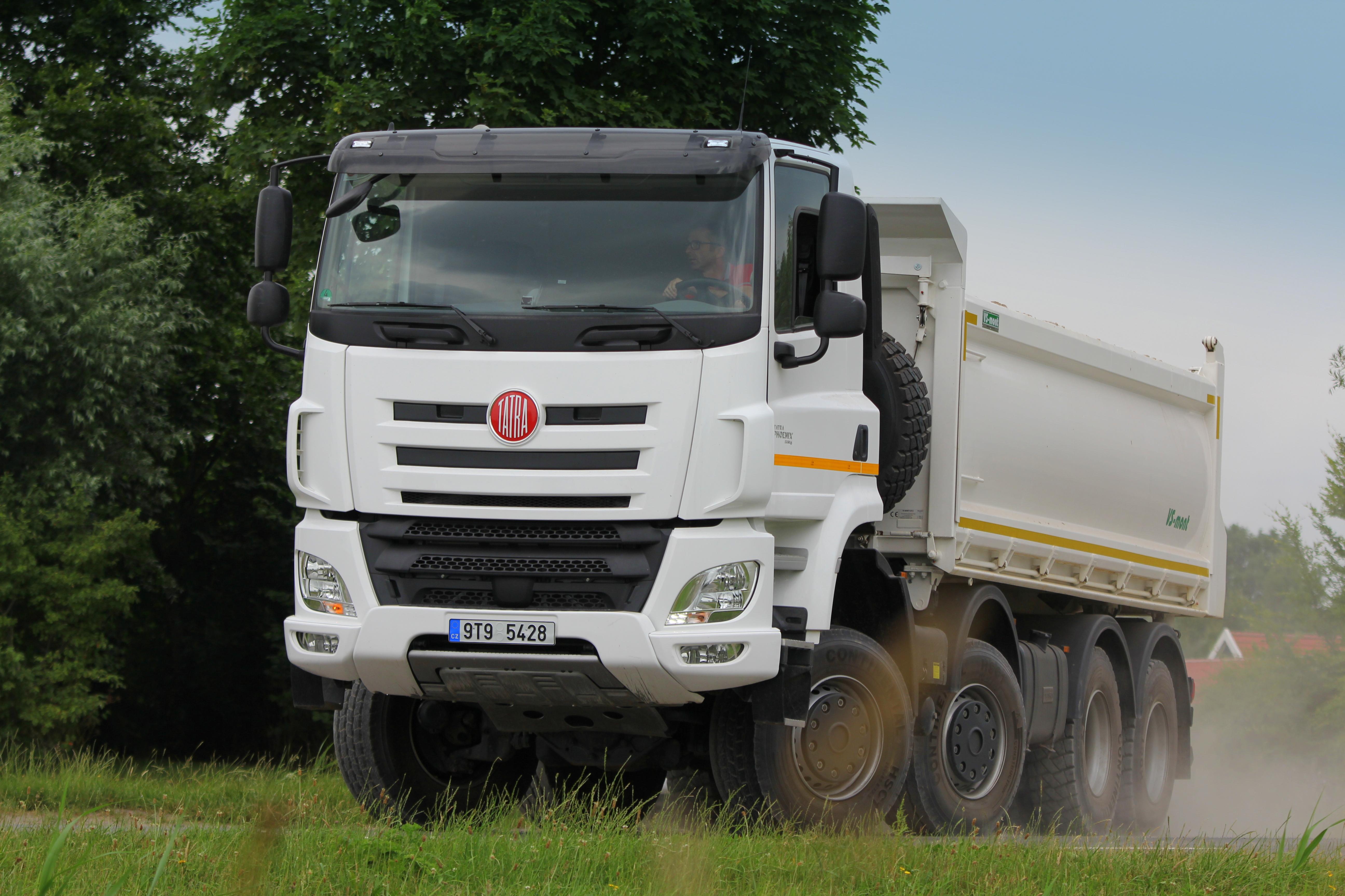 <p>Bijzondere terreinkwaliteiten met hoog comfort voor de Tatra</p>