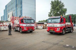 Volvo Trucks voor vervoer van bouwcontainers