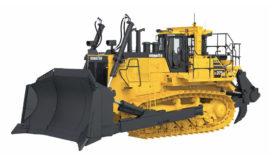 Komatsu 73-tons bulldozer krachtiger en comfortabeler