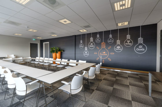 In de nieuwbouw heeft Meerman ook ruimtegecreëerd voor een instructielokaal.