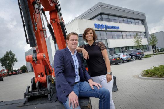 Koen en Ilse Meerman, de nieuwe generatie.'Wij zijn een no-nonsense-bedrijf, en dat zullen we altijd blijven.'