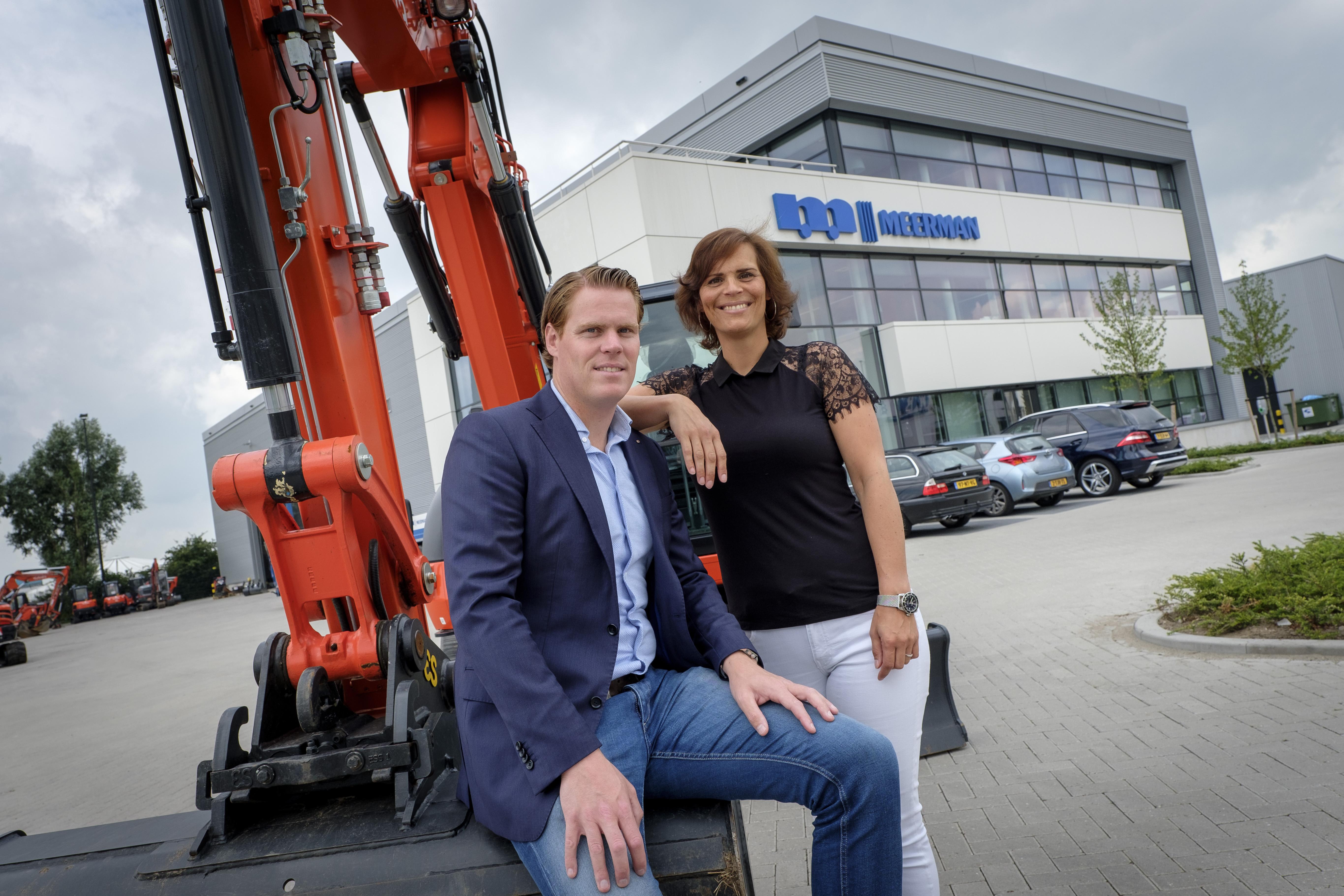 <p>Koen en Ilse Meerman, de nieuwe generatie.'Wij zijn een no-nonsense-bedrijf, en dat zullen we altijd blijven.'</p>