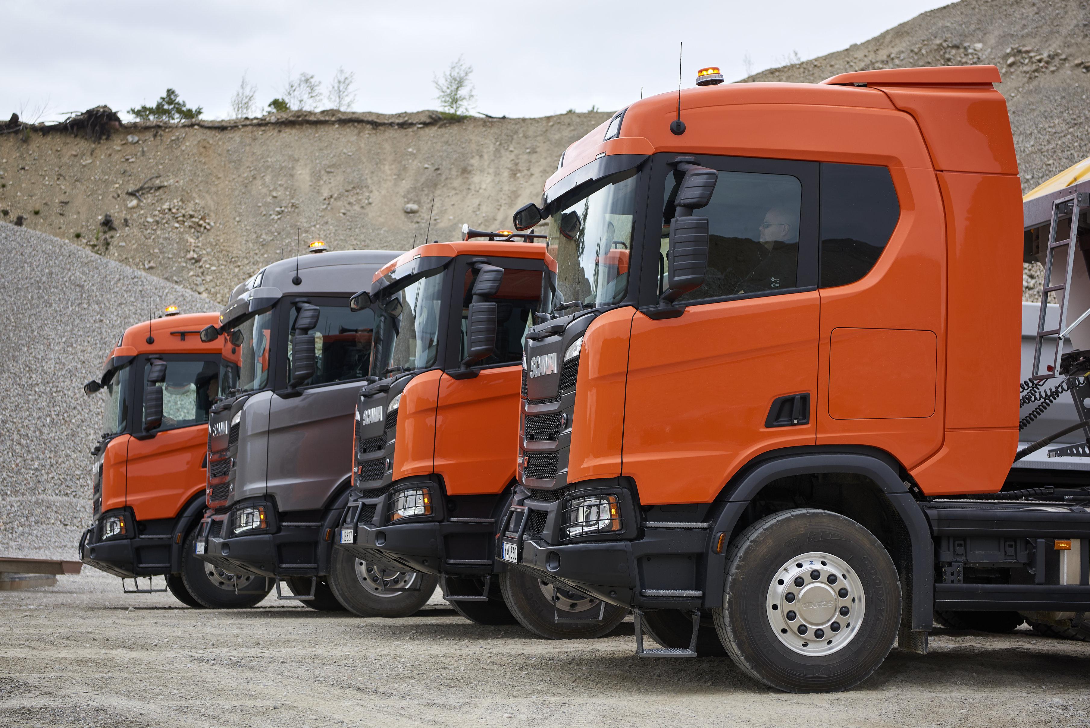 <p>Scania biedt een enorm scala aan cabines voor de XT-serie.</p>