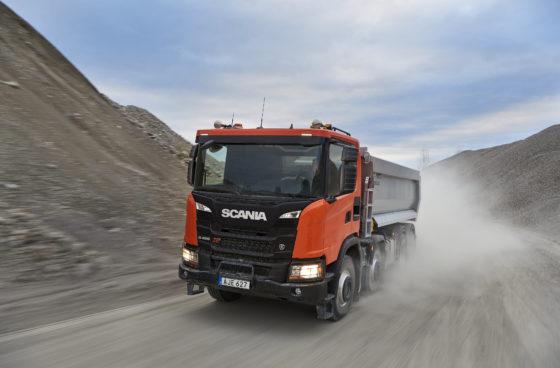 Scania XT is nieuwe Nextgen-truck voor de bouw