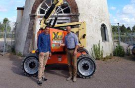 Riwal levert JLG hybride hoogwerker aan Xtra Materieel