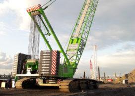 Sennebogen 7700R-SL met 300 ton hijscapaciteit