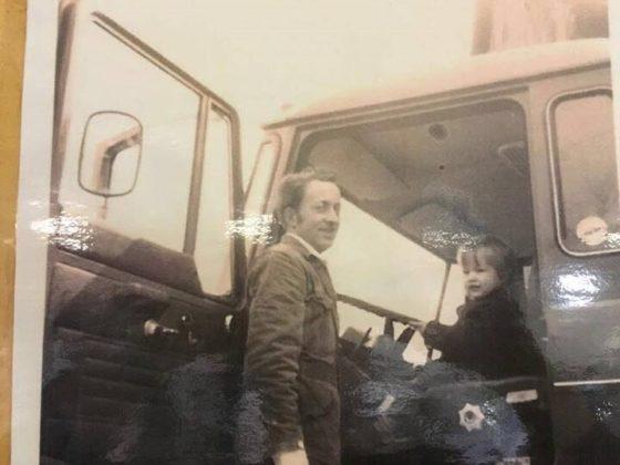 Henk Zwanenburg met zoon Ignas.
