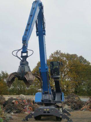 Inter Metals heeft voor de locatie in Ochtrup een nieuwe Fuchs MHL360F overslagmachine aangeschaft.