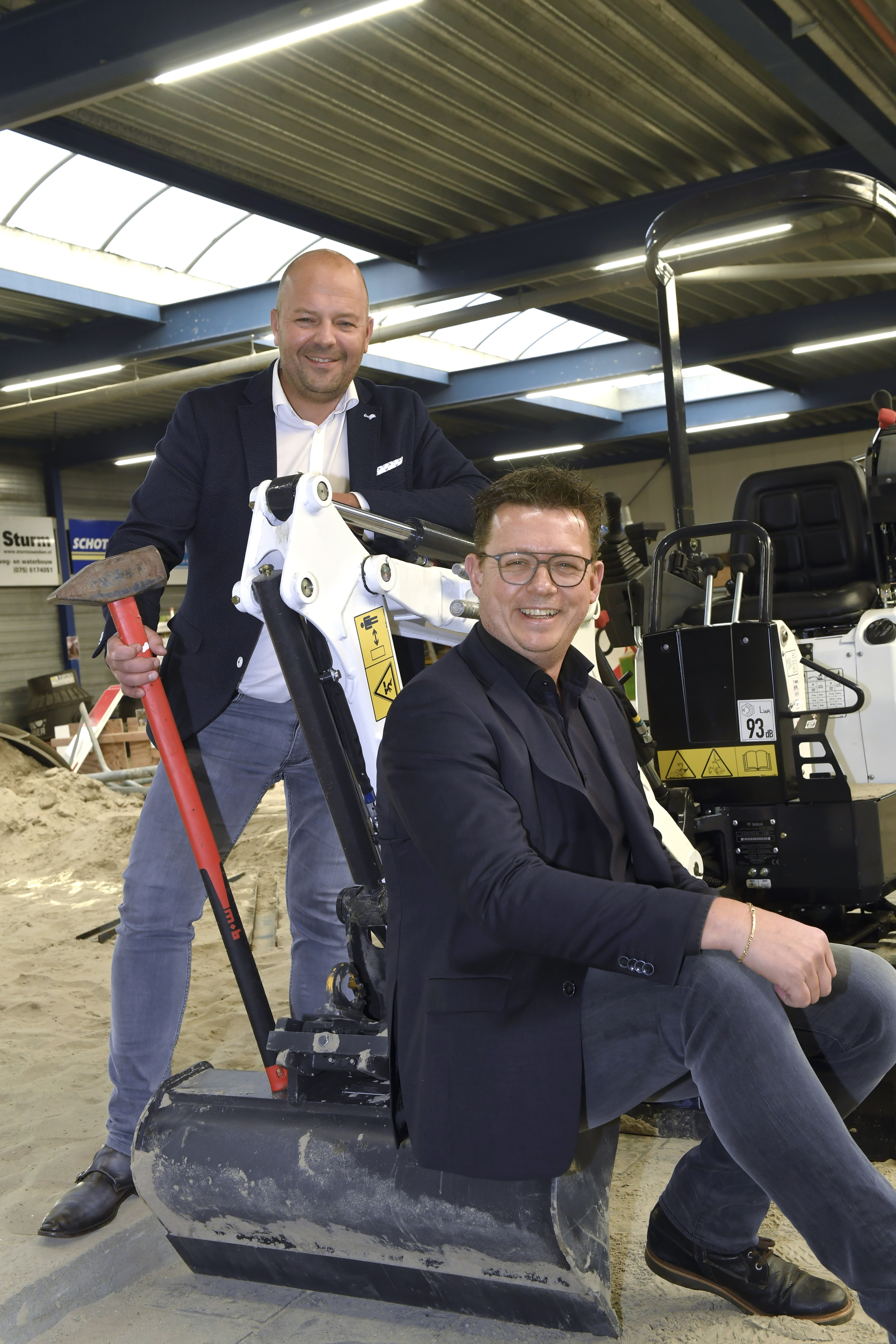 <p>Kees de Groot en Jan Bork over de professionalisering van de branche: 'Waar vroeger nog wel eens smalend richting die slopertjes werd gedaan, worden we nu serieus genomen.' </p>