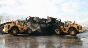 Renewi Contrans investeert in 4 nieuwe Volvo wielladers
