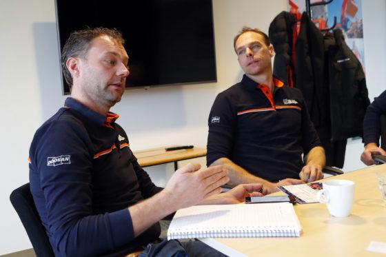 Jan Willem Staadegaard (links), hier met zijn broer Pieter: 'Je moet jezelf bewijzen, en ik denk dat wij dat de afgelopen jaren hebben gedaan.'