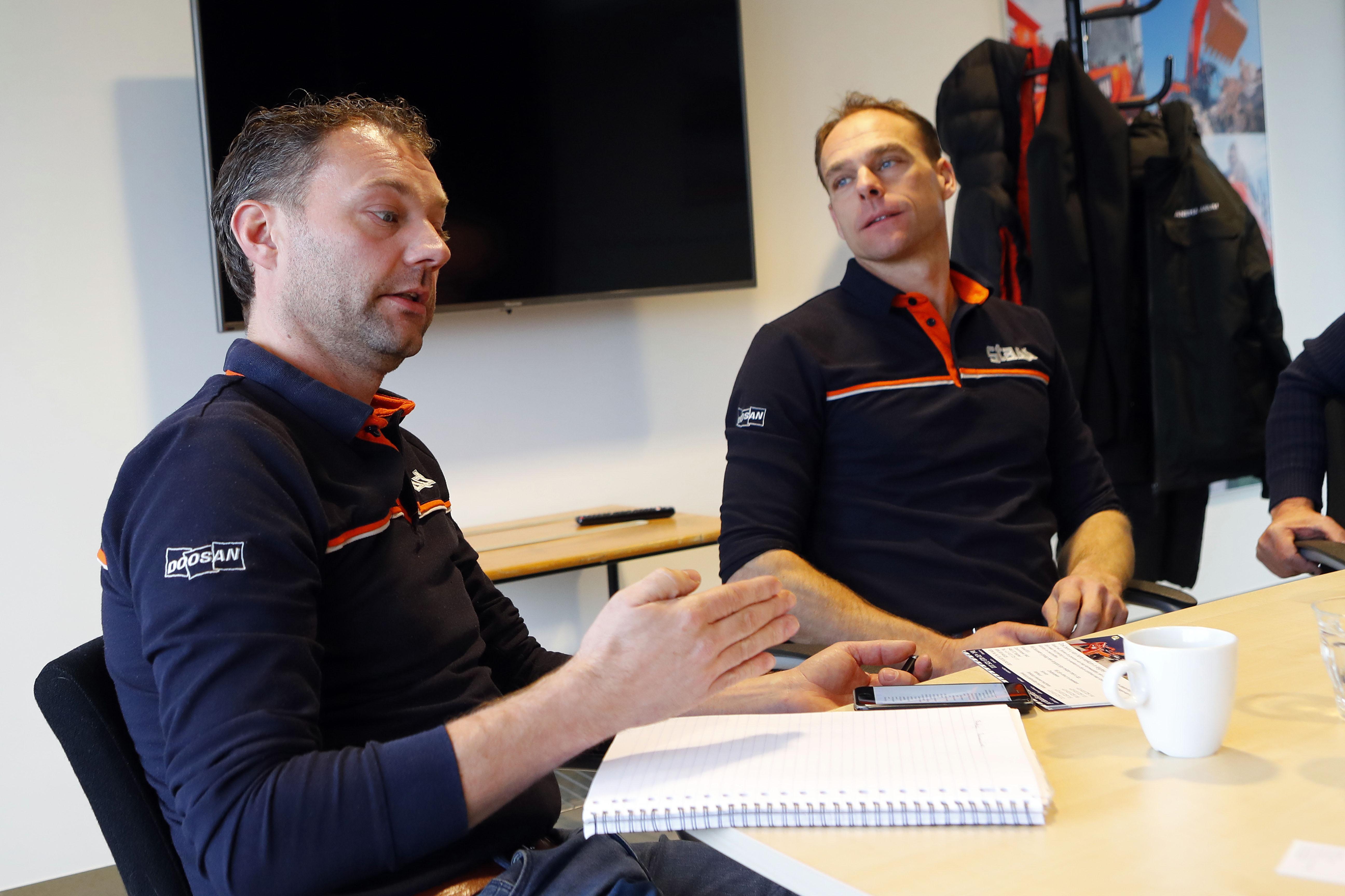 <p>Jan Willem Staadegaard (links), hier met zijn broer Pieter: 'Je moet jezelf bewijzen, en ik denk dat wij dat de afgelopen jaren hebben gedaan.'</p>