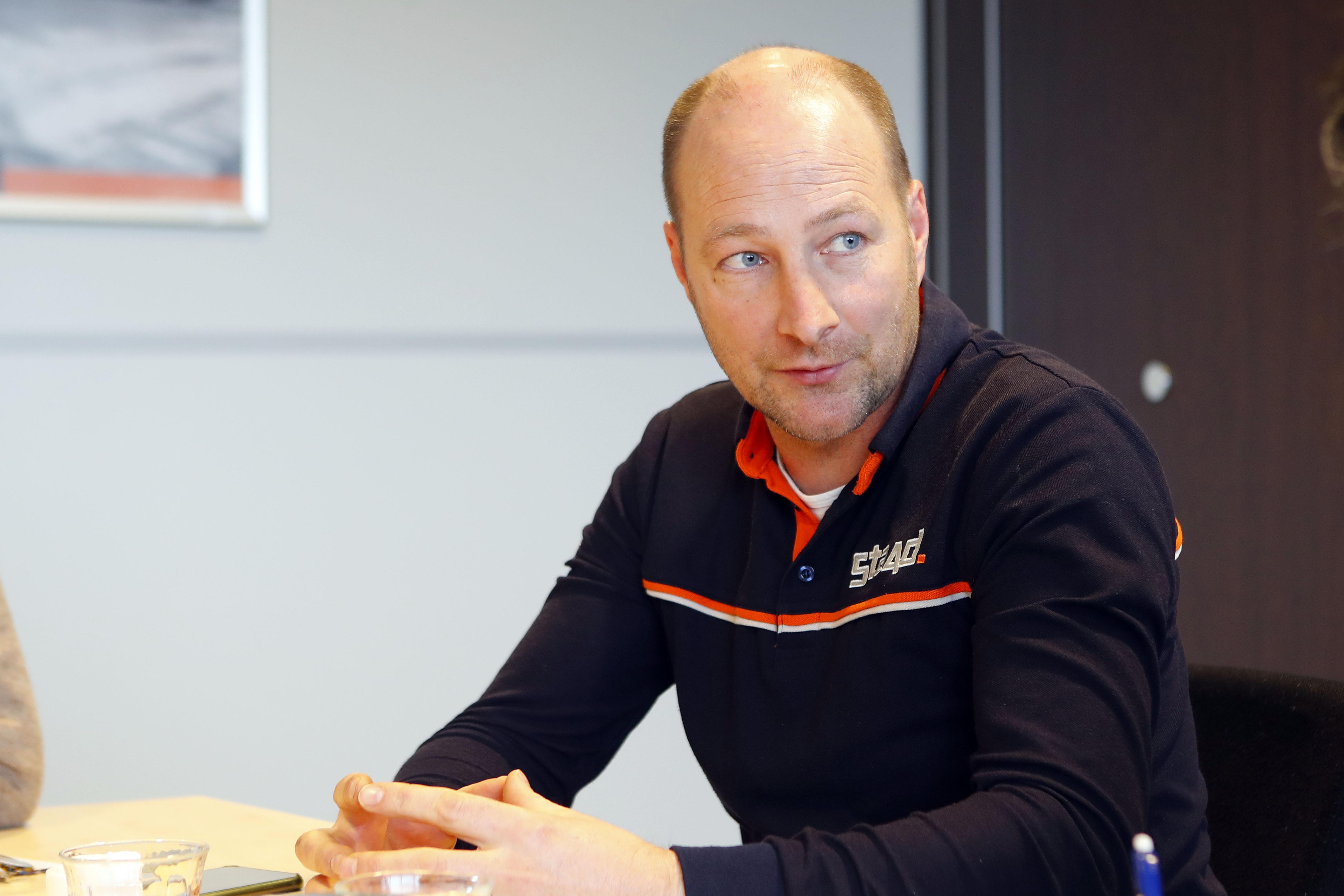 <p>Sijmen Staadegaard: 'Nederland is voor Doosan een interessante markt, waar zij een hoog marktaandeel heeft.'</p>
