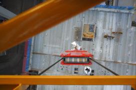 Camera in torenkraan voedt BIM-systeem
