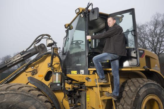 Machinist van de maand JANUARI: Gert Kroon en zijn Caterpillar 930H