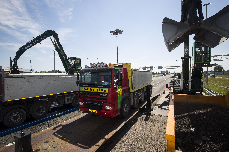 <p>De mobiele weegbrug is dankzij zijn lengte van 15 meter en breedte van 3 meter geschikt voor alle vrachtwagen die in de wegenbouw worden ingezet. Het op- en afrijden gaat simpel dankzij de lange oprijplaten.</p>