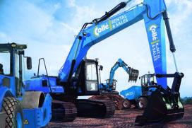 Collé breidt uit met zware grondverzetmachines