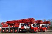 Wagenborg breidt uit met 3 Tadano kranen