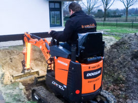 Doosan DX10Z is ultracompacte alleskunner