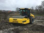 Nieuwe Dynapac trilrolwals CA3500 voor Sagro