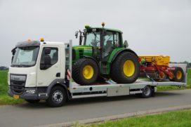Veldhuizen komt met oprijvrachtwagen met knikkende laadvloer