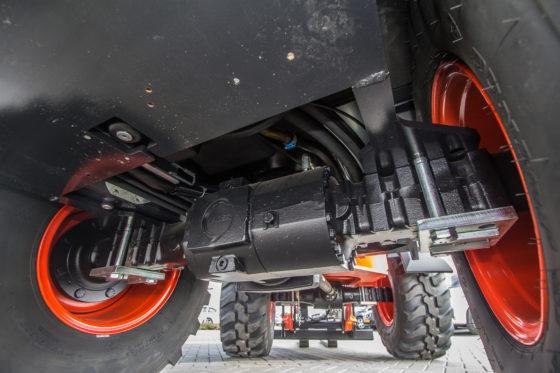 De drie modellen binnen de nieuwe range variëren in eigen gewicht van 4300 tot 4800 kilo. Chassis, laadframe en assen zijn identiek en van de bekende componentenbouwers.