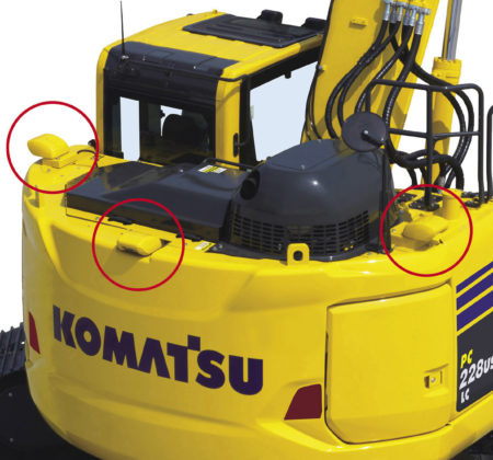 Komatsu KomVision voldoet aan nieuwe ISO-norm