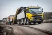 Volvo FMX vijfasser af-fabriek goed voor 49 ton GVW