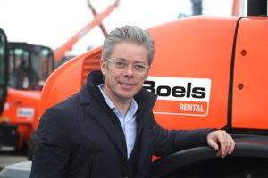 Pierre Boels, CEO van Boels Rental