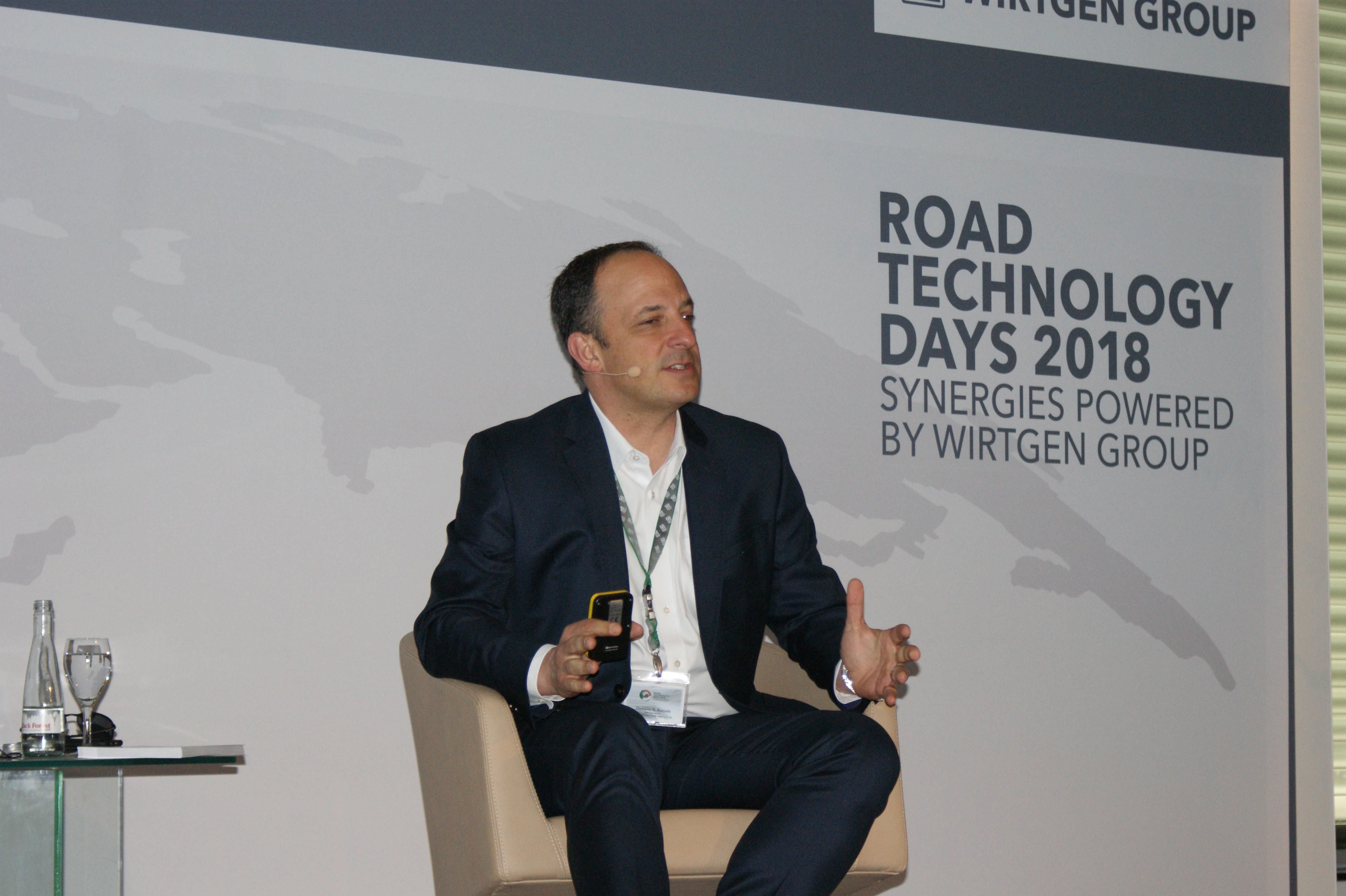<p>CEO Dominic Ruccolo: 'Wirtgen is voor John Deere nu al een succesvolle overname gebleken. De bedrijven passen perfect bij elkaar.'</p>