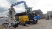 1e nieuwe Fuchs MHL320F draait bij Van Dijk Containers