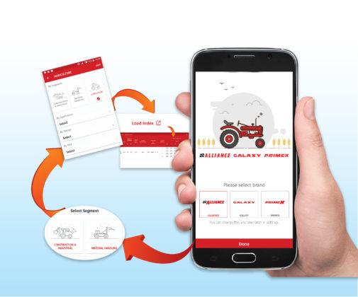 Iedereen weet dat rijden met verkeerde banden en een onjuiste bandenspanning geld kost. Daar springen bandenfabrikanten en -leveranciers handig op in met bandenspannings-apps.