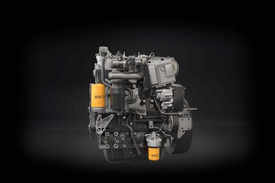 JCB komt met een nieuwe generatie eigen dieselmotoren, die voldoen aan de Stage V-eisen. 'Bijna nul emissie', zo luidt de belofte.