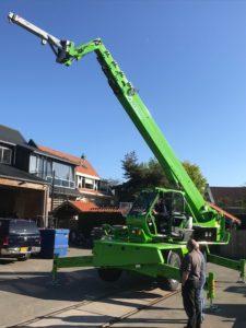 Biemond & Lems Verhuur in Heerjansdam hebben hun tweede Merlo Roto 40.30MCSS verreiker geleverd gekregen door Verreikercentrum Midden Nederland. In verband met de behoefte aan lengte is gekozen voor de Roto 40.30MCSS.