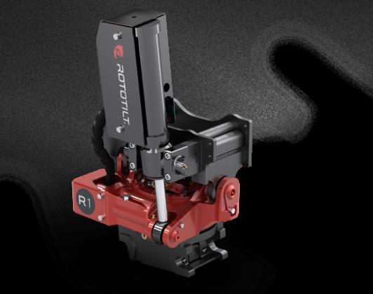 Nieuwe Rototilt R1 tiltrotator voor machines tot 3,5 ton